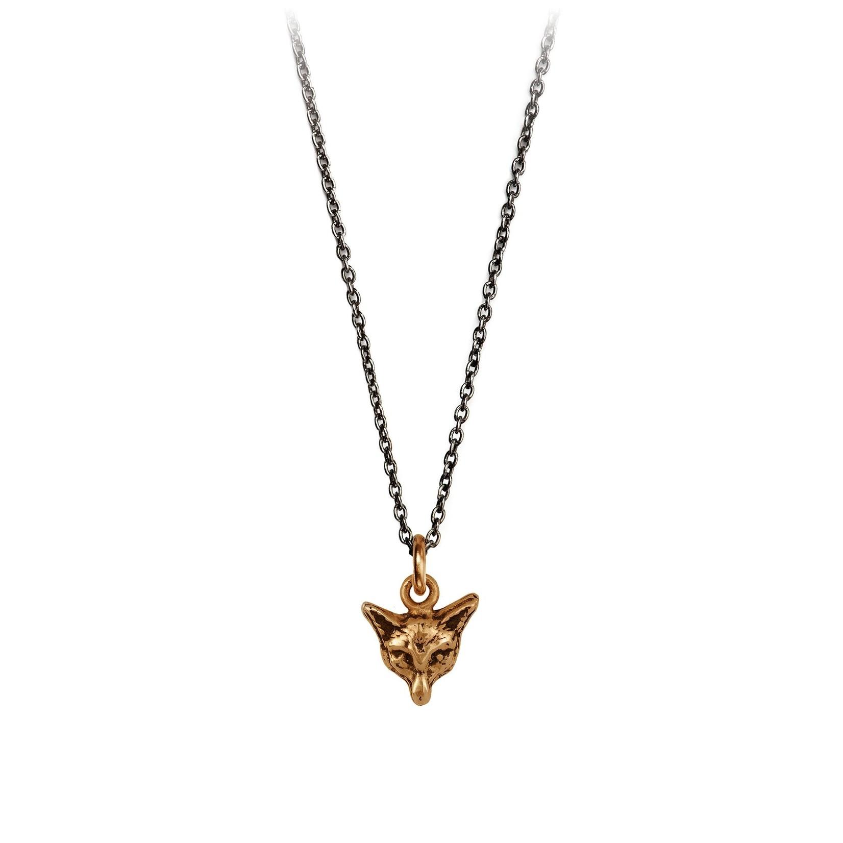 Pyrrha Fox Symbol Charm Necklace