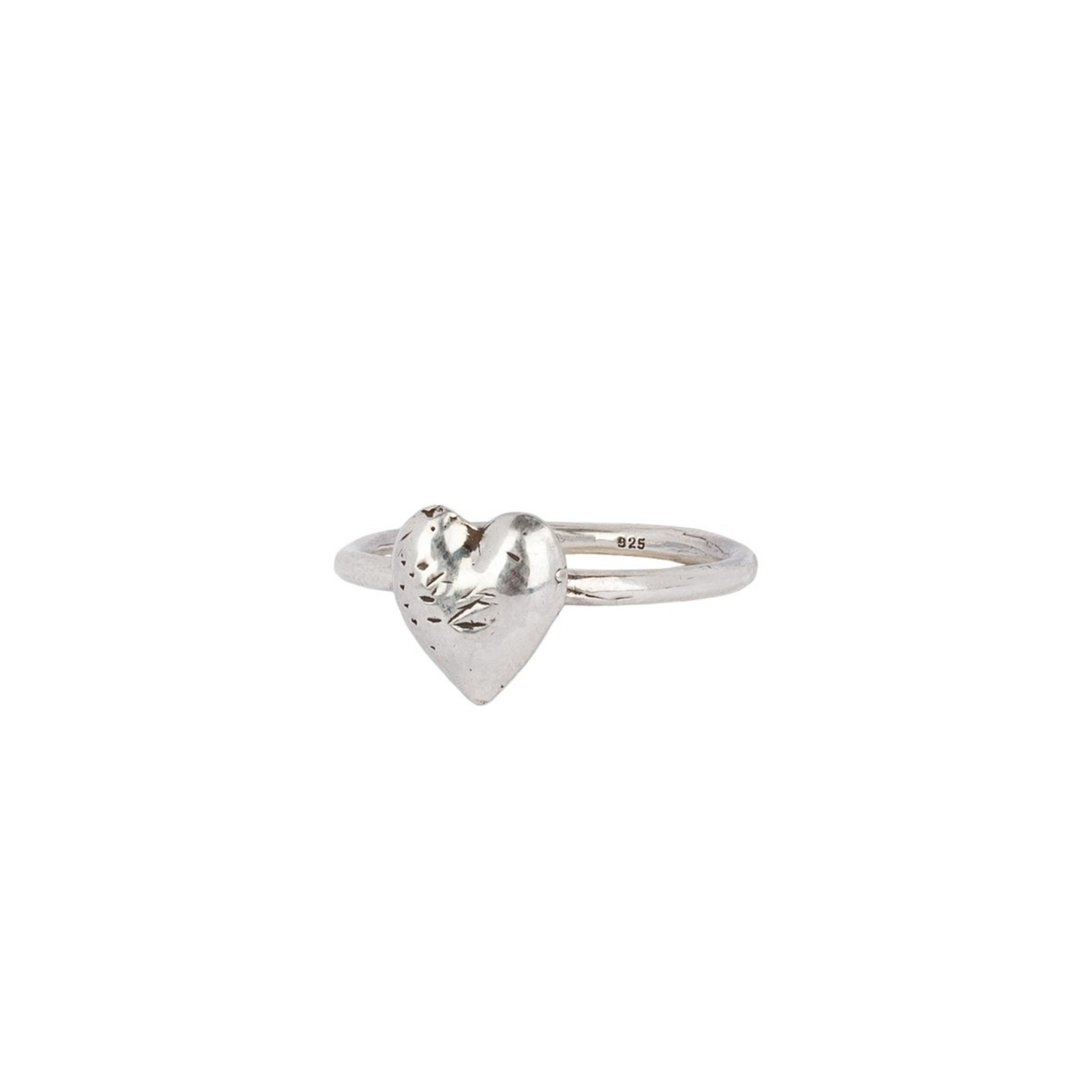 Pyrrha Heart Symbol Charm Ring