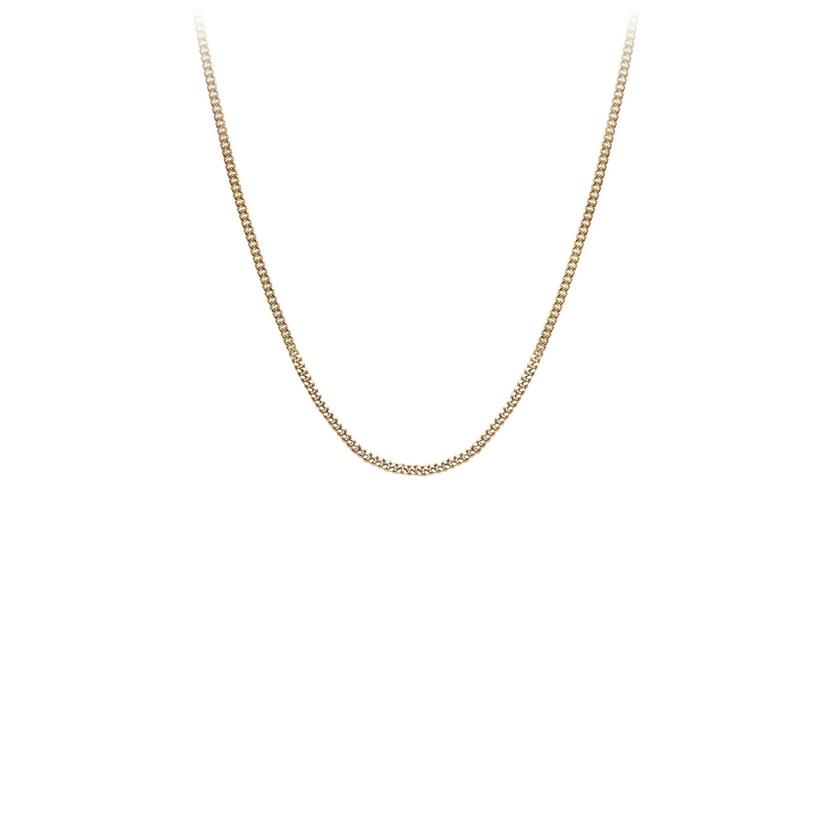 Pyrrha 14K Gold Medium Curb Chain