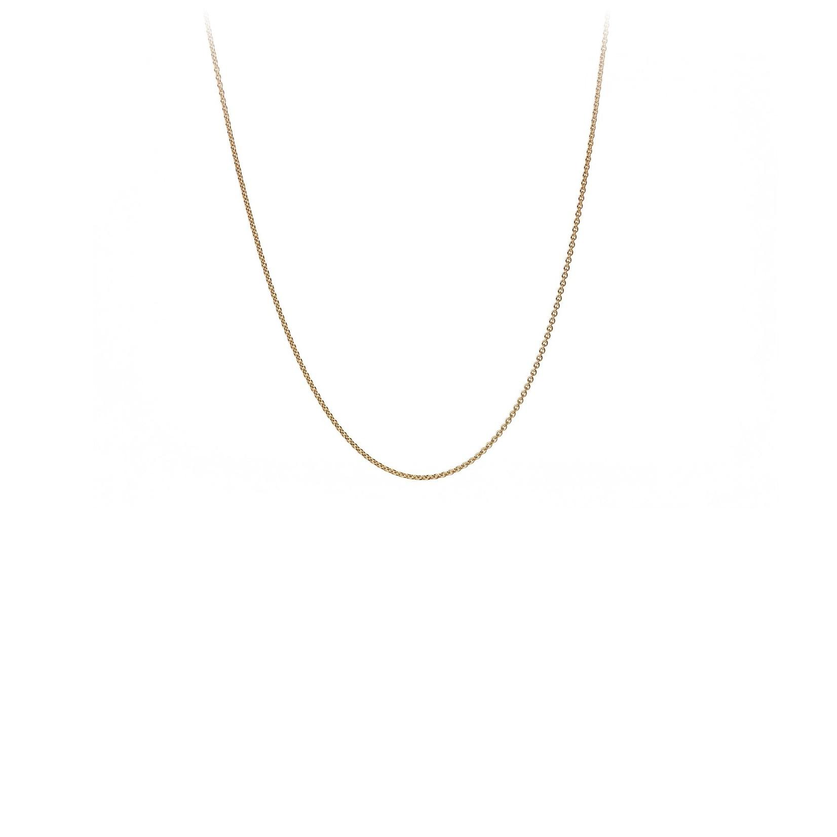 Pyrrha 14K Gold Fine Cable Chain