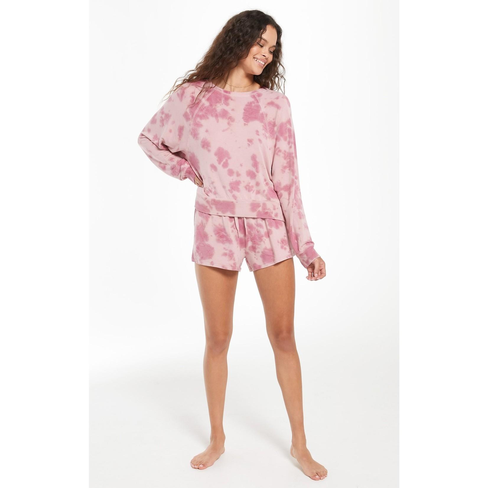 Z Supply Sleepover Tie-Dye Pullover
