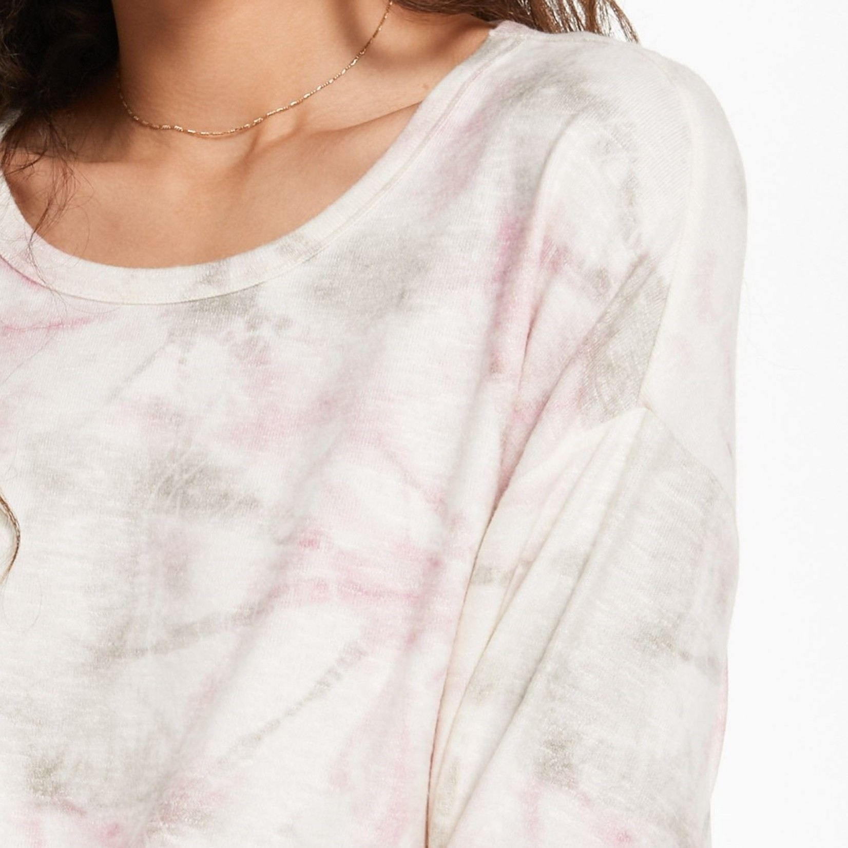 Z Supply Sun Ray Faded Tie-Dye Pullover