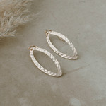Glee Jewelry Ellipse Earrings