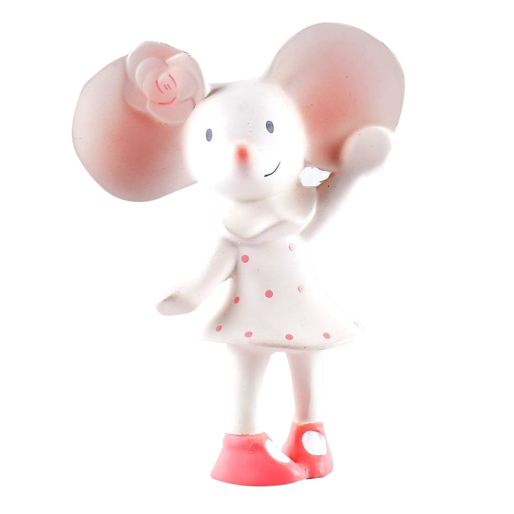 Tikiri Collection Meiya The Mouse Natural Rubber Squeaker