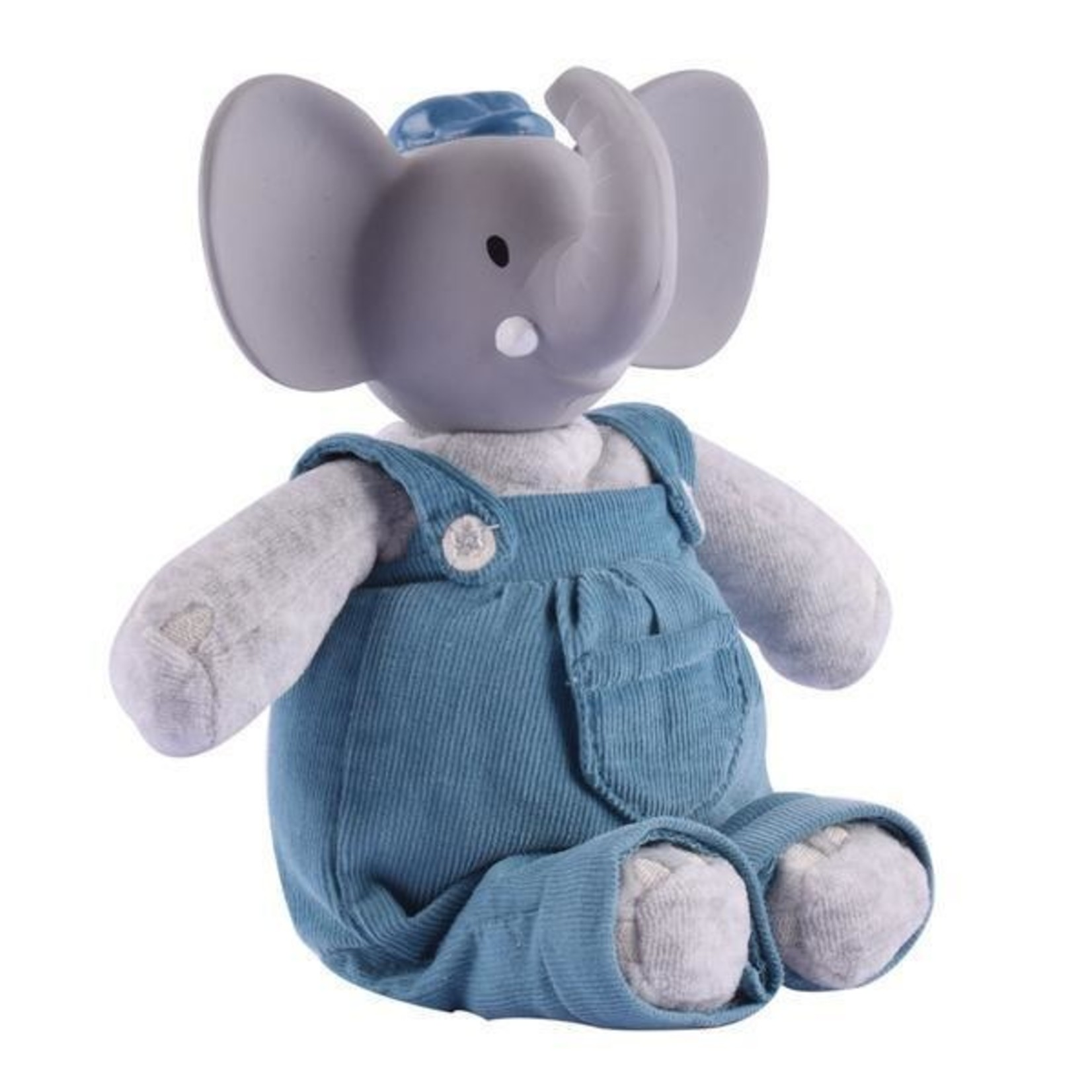 Tikiri Collection Alvin The Elephant Natural Rubber Head Toy