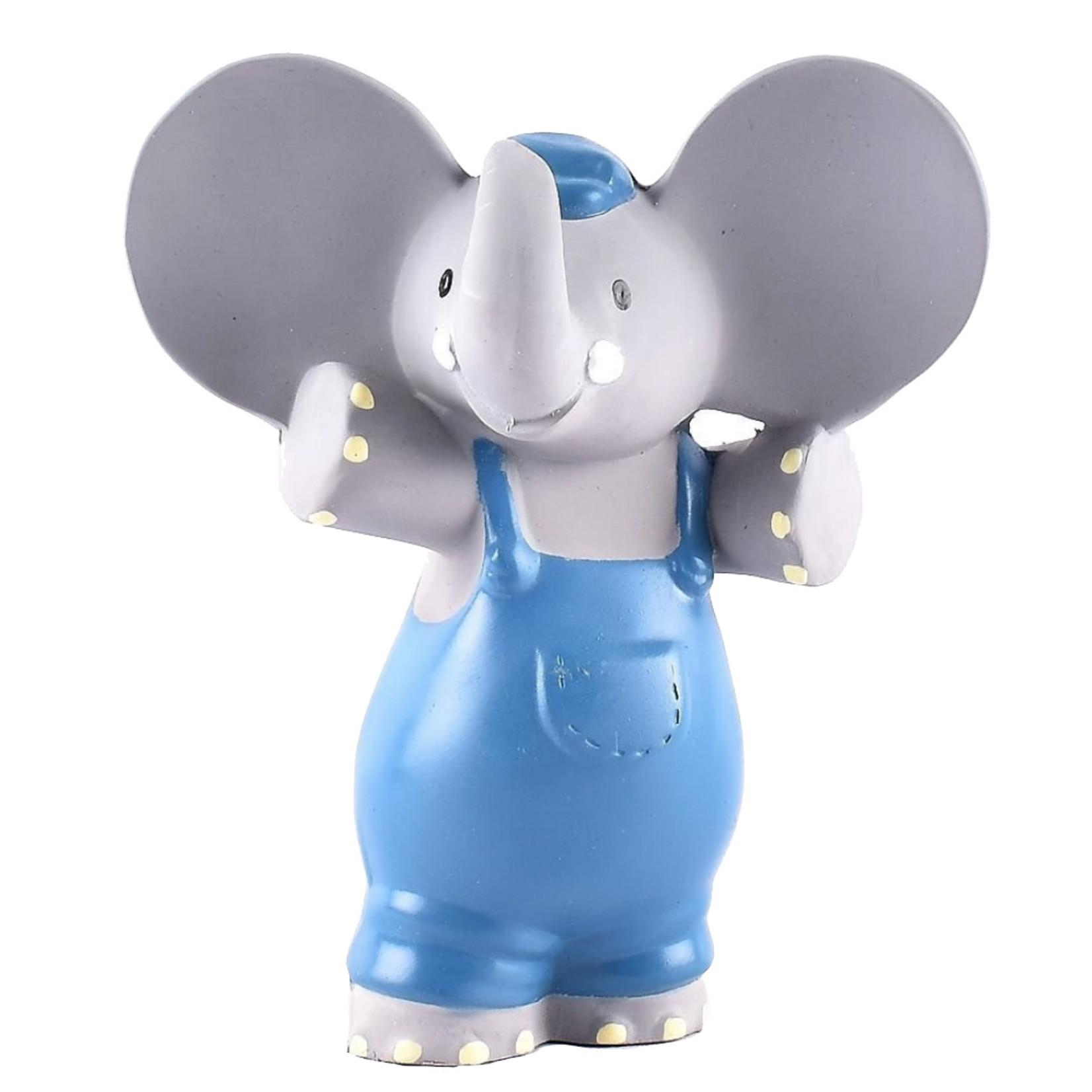 Tikiri Collection Alvin The Elephant Natural Squeaker
