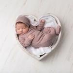 L'oved Baby Pointelle Lap-shoulder Footie