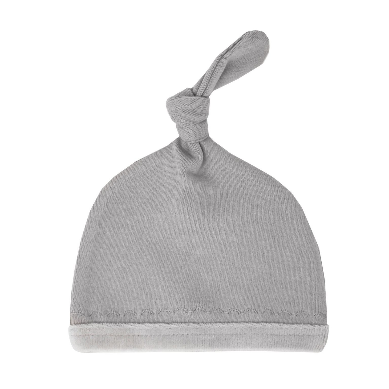 L'oved Baby Velveteen Top-Knot Hat