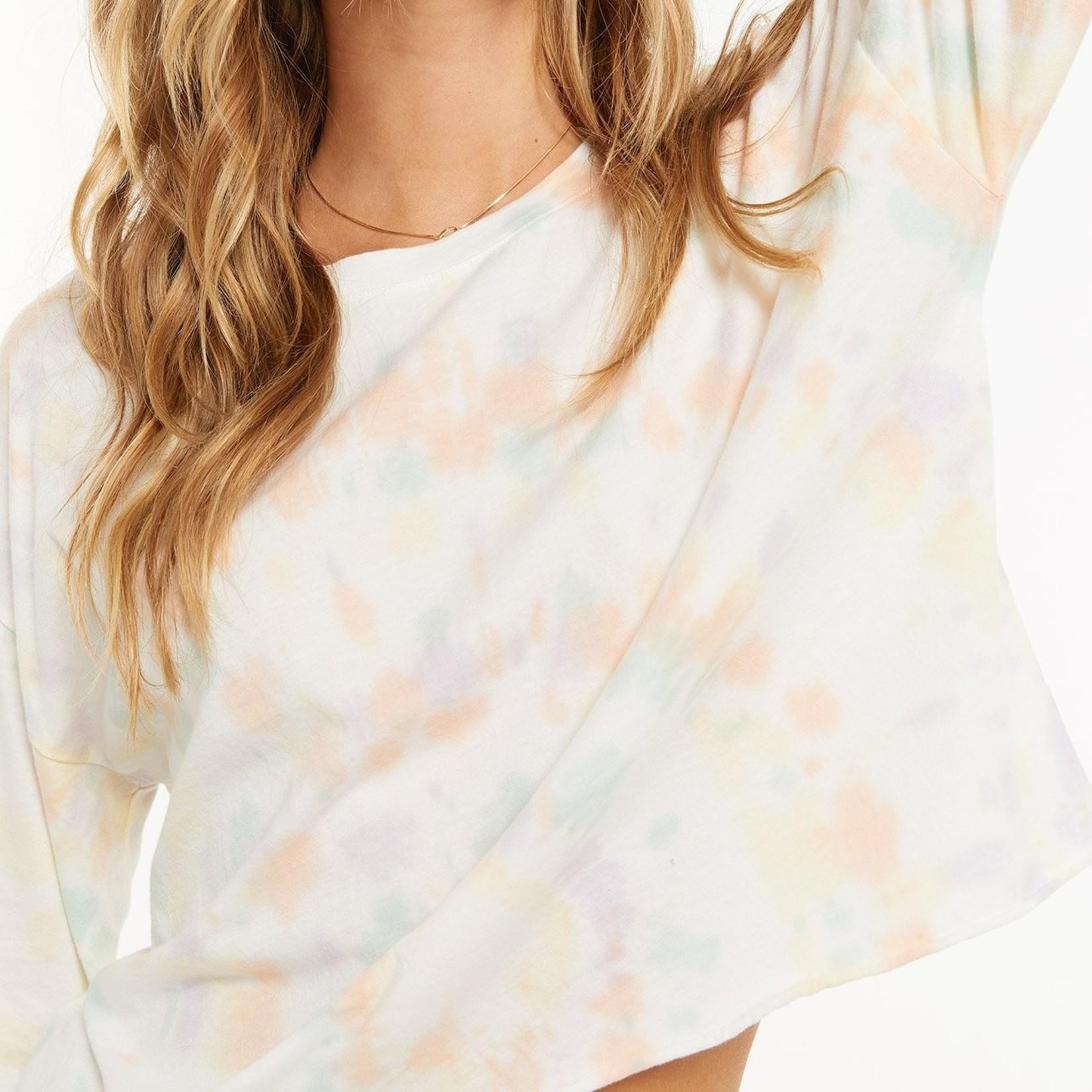 Z Supply Organic Groovy Tie-Dye Long Sleeve Top
