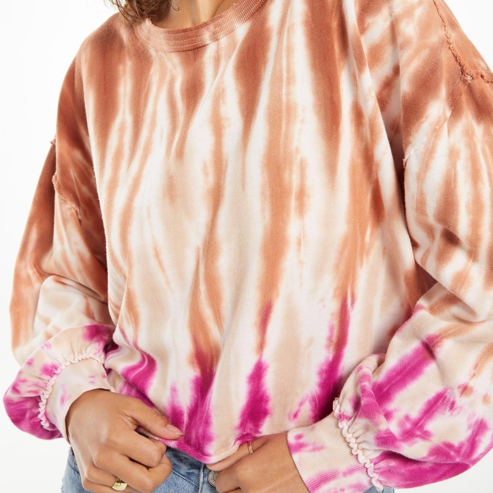 Z Supply Tempest Tie-Dye Pullover