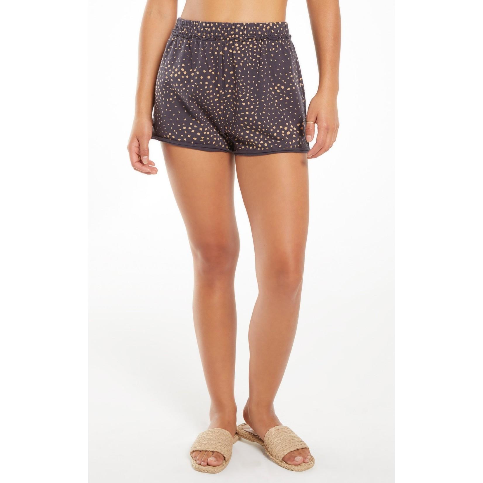 Z Supply Carter Dot Cotton Short