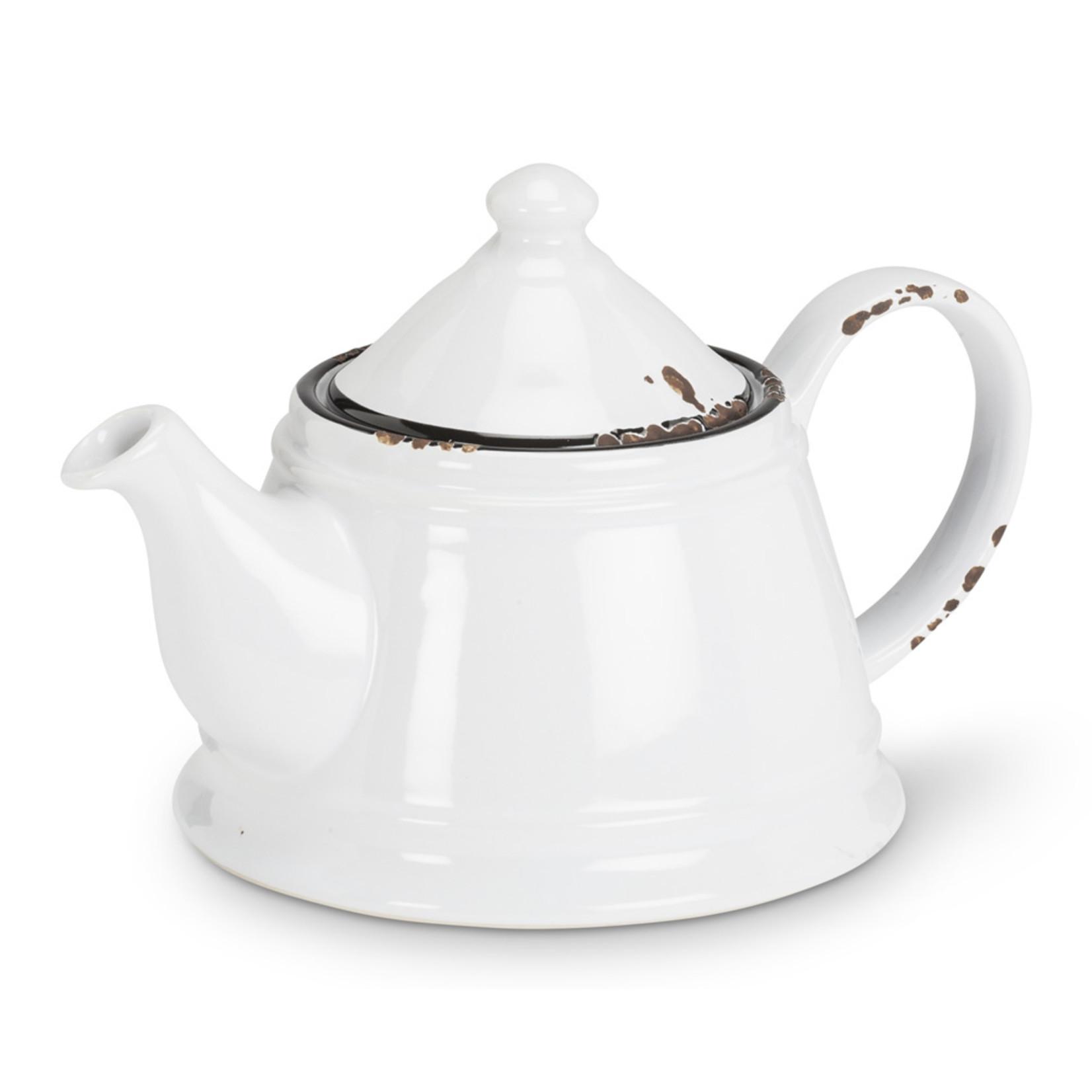 Abbott Enamel Teapot
