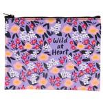 Blue Q Wild At Heart Zipper Pouch