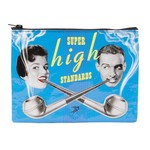 Blue Q Super High Standards Zipper Pouch