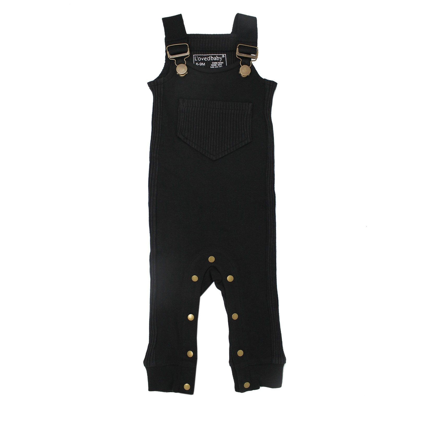 L'oved Baby Footless Ribbed Overall
