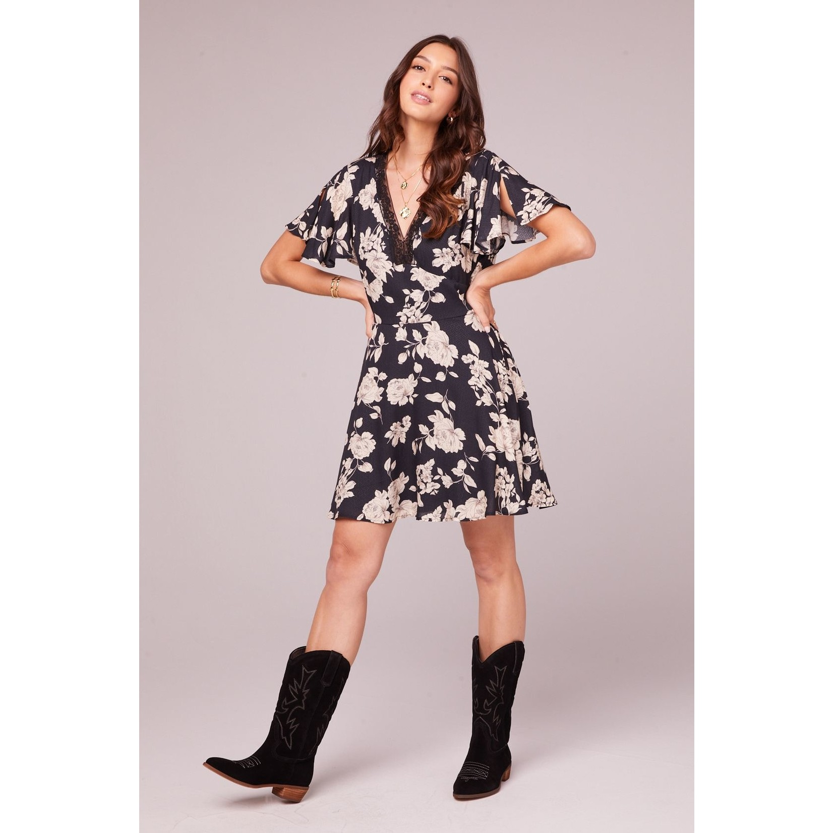 B.O.G. Collective Agave Mini Dress