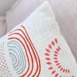 Indaba Rainbow Sunrise Pillow