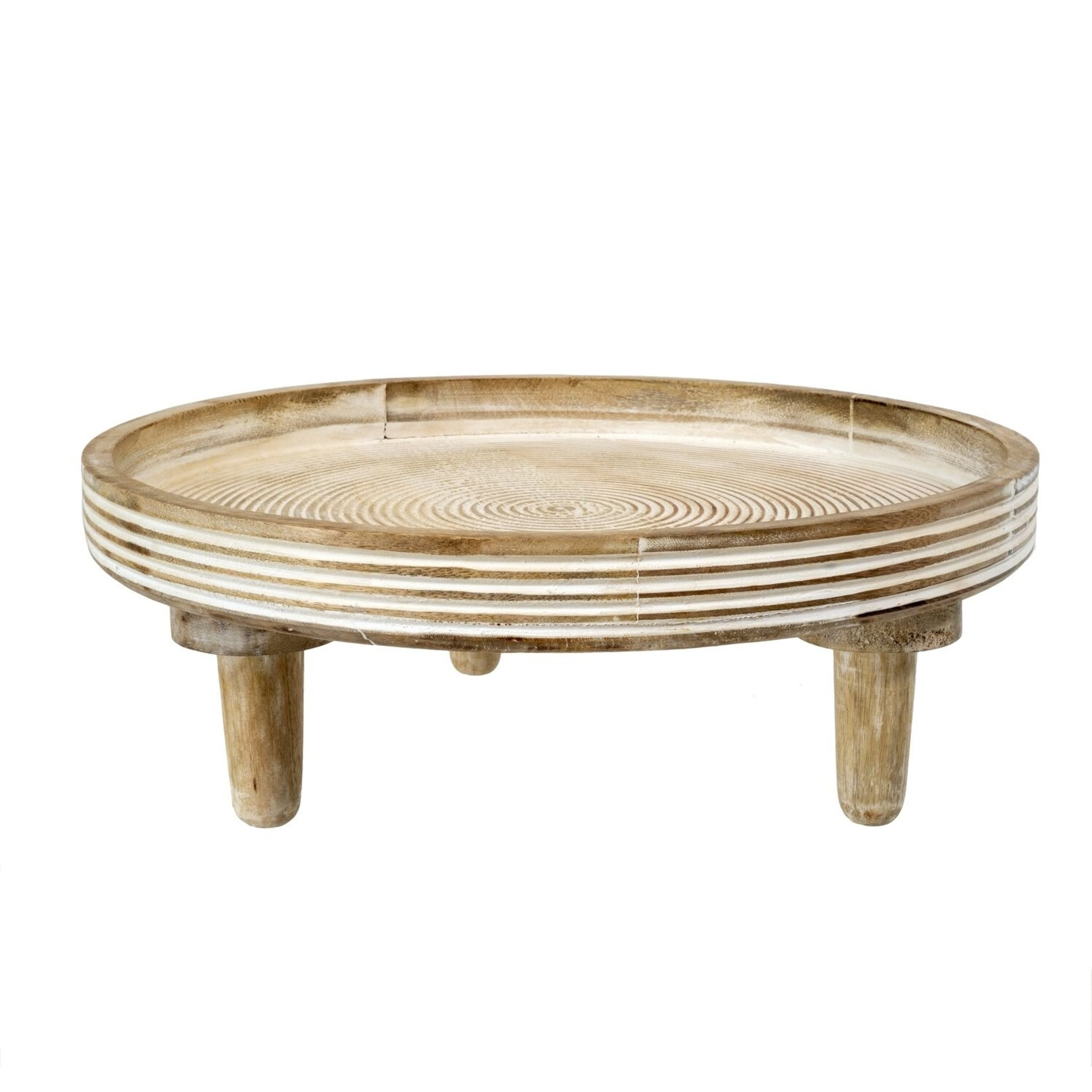 Indaba Coralie Footed Tray