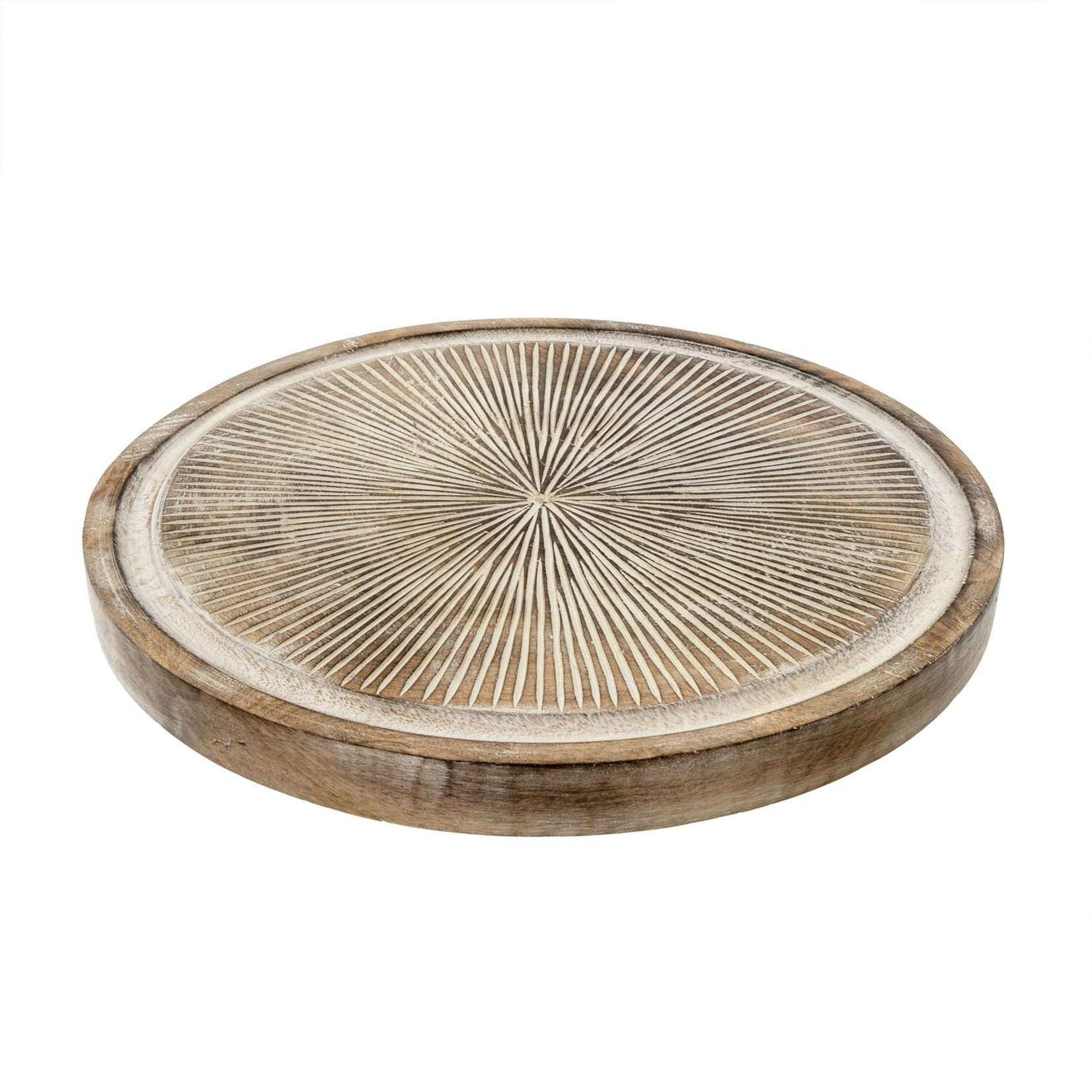 Indaba Brook Carved Tray