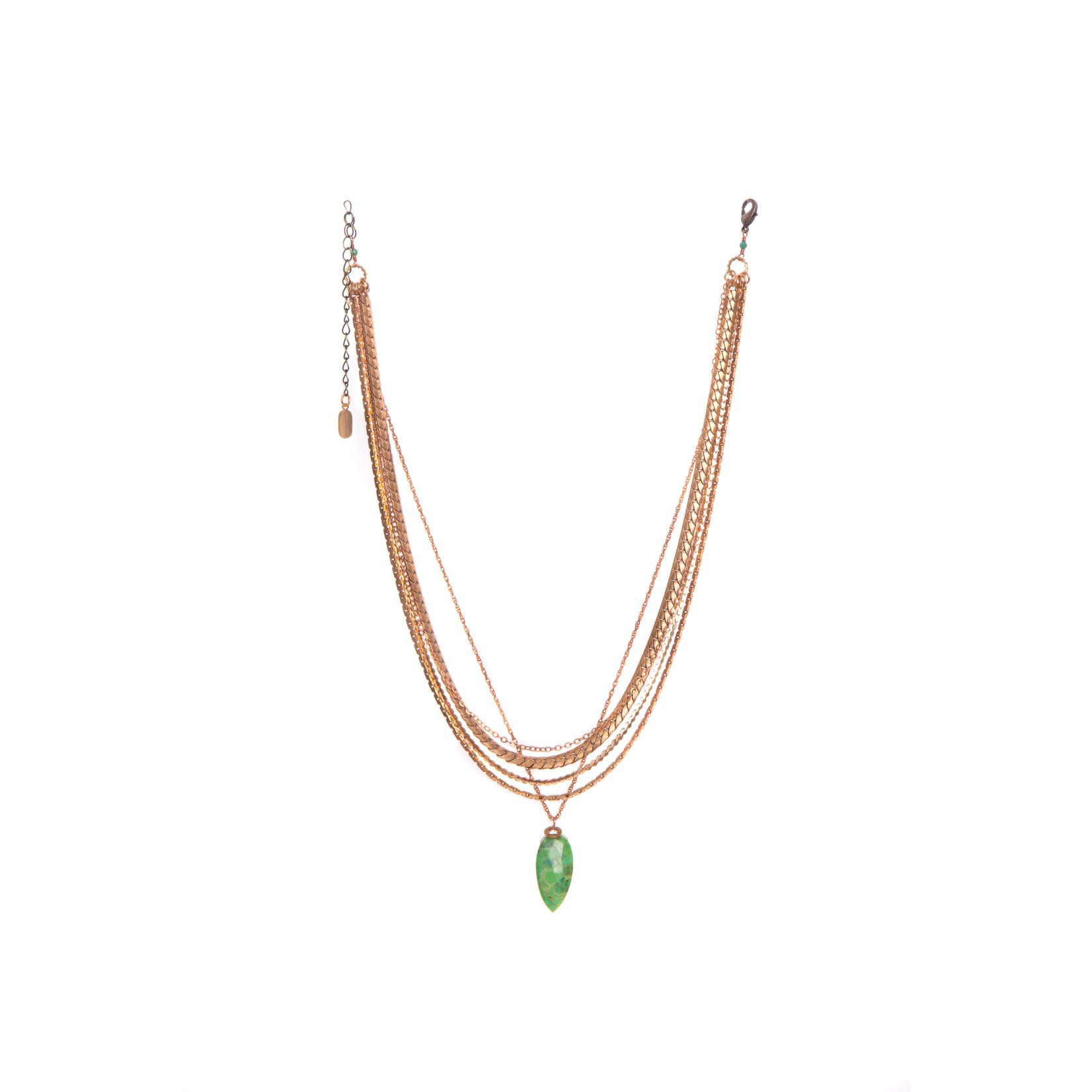 Hailey Gerrits Amazon Necklace