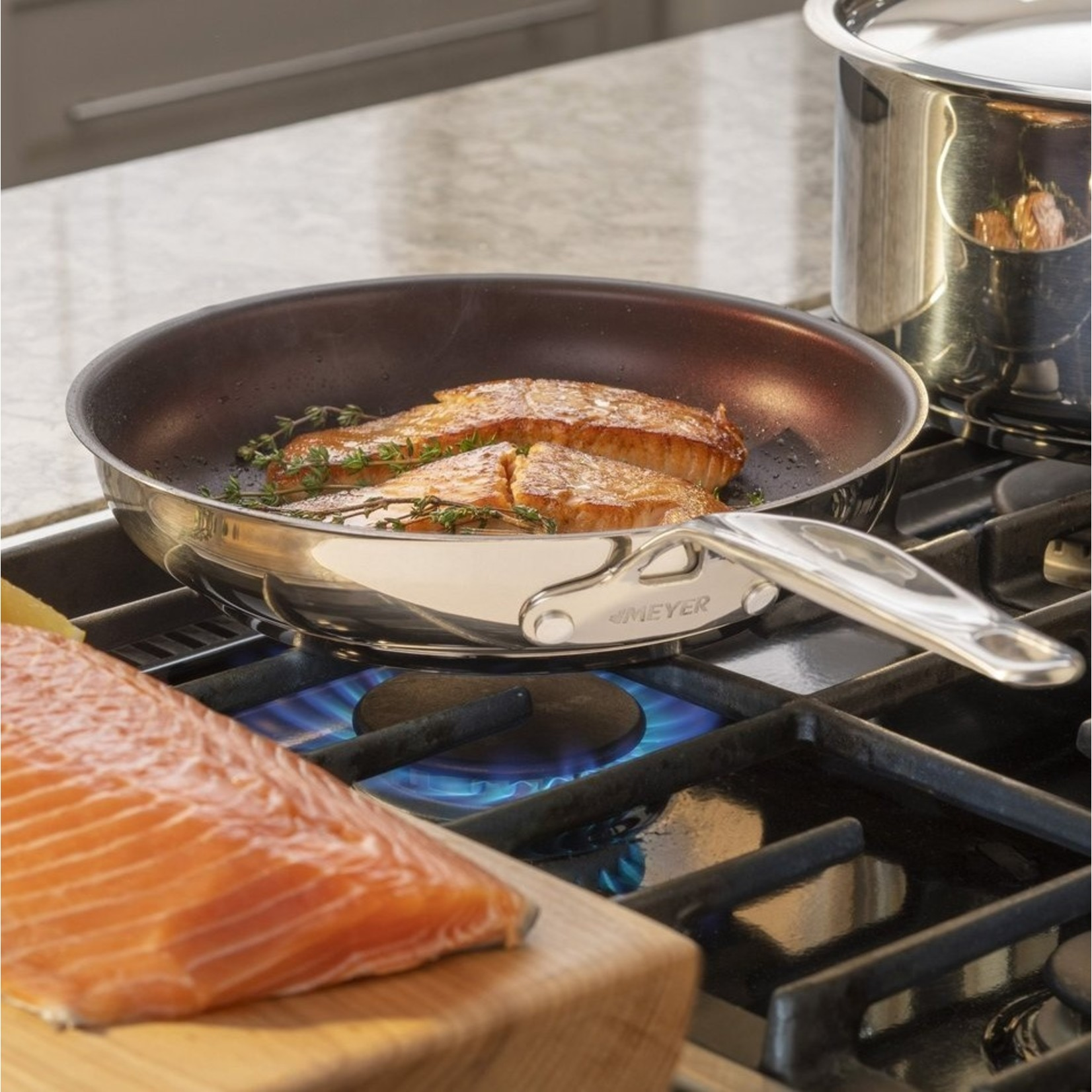 Meyer Meyer Confederation Stainless Steel Non Stick Fry Pan, Skillet