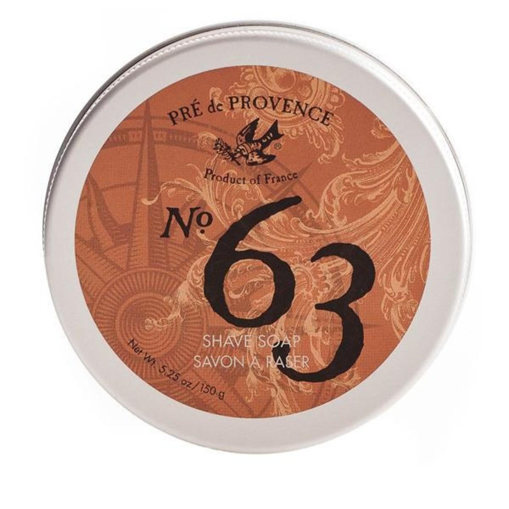 Pre de Provence No. 63 Shave Soap Tin
