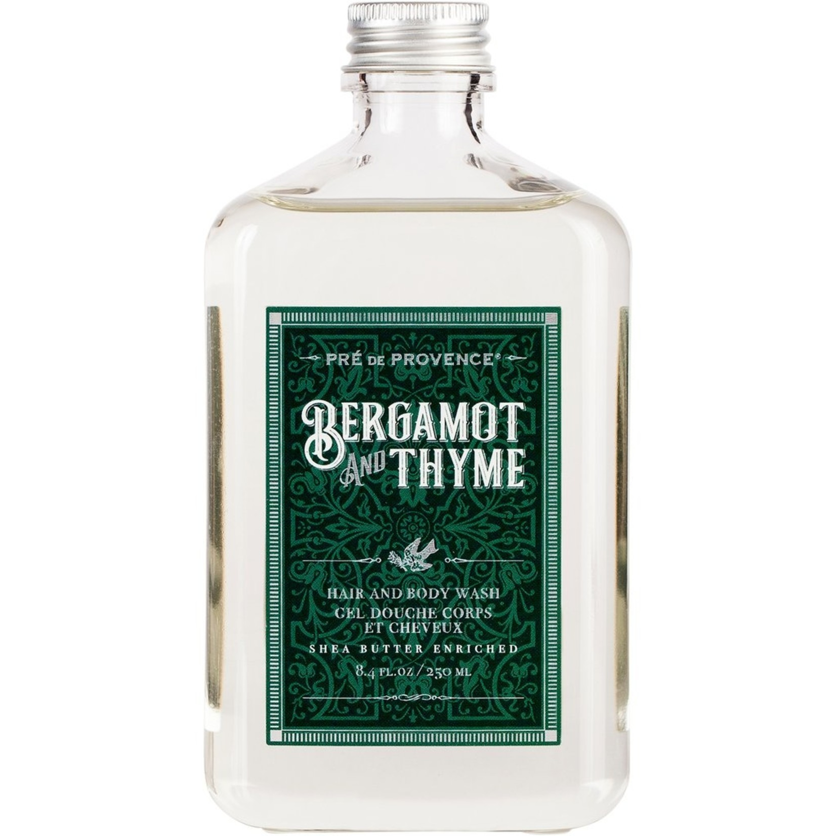 Pre de Provence Bergamot and Thyme Hair and Body Wash