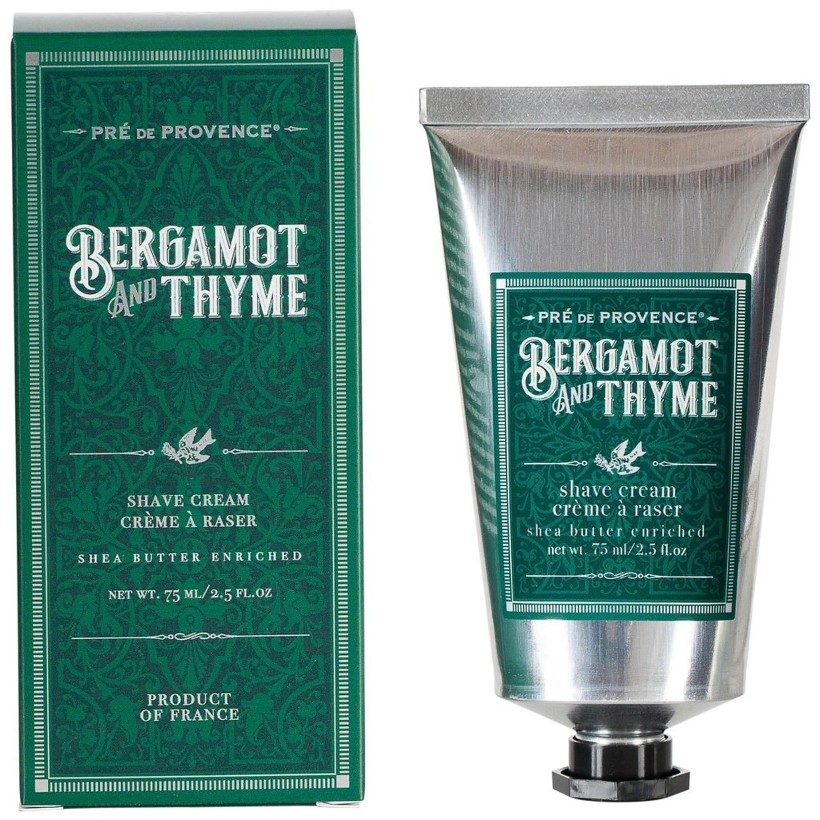 Pre de Provence Bergamot & Thyme Shea Butter Shave Cream