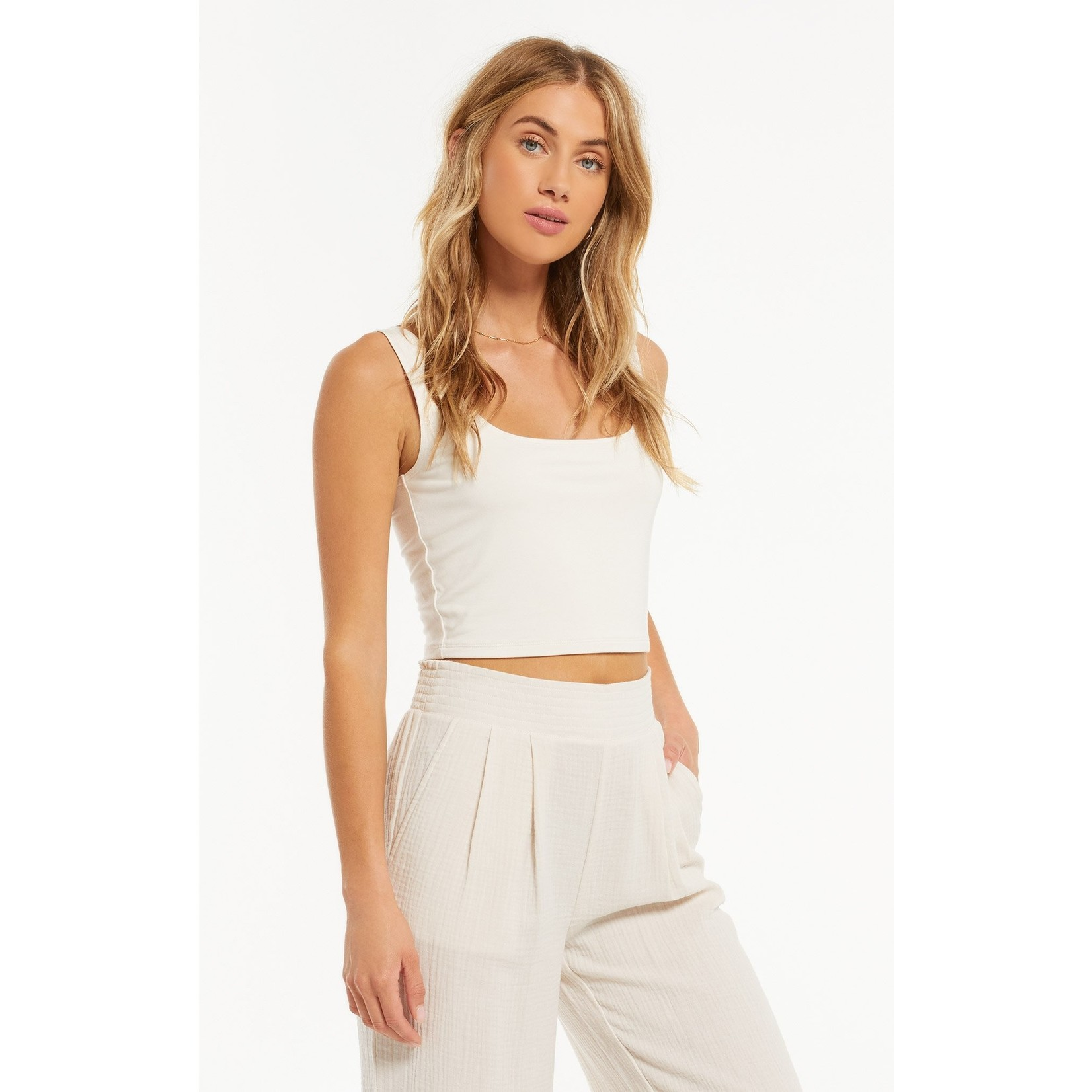 Z Supply Time Out Crop Tank