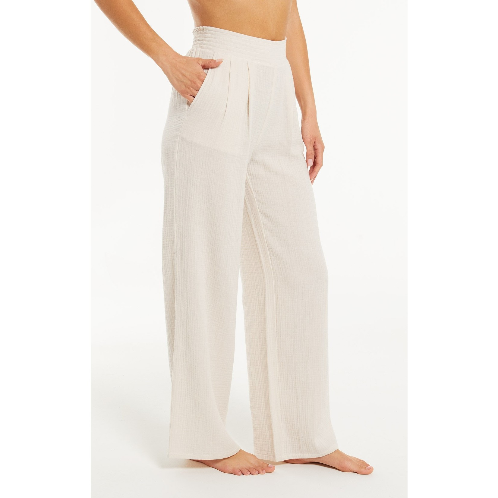 Z Supply Down To Earth Gauze Pant