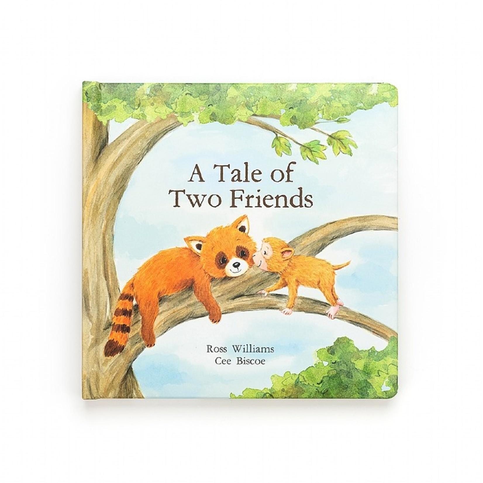 Jellycat A Tale Of Two Friends Book