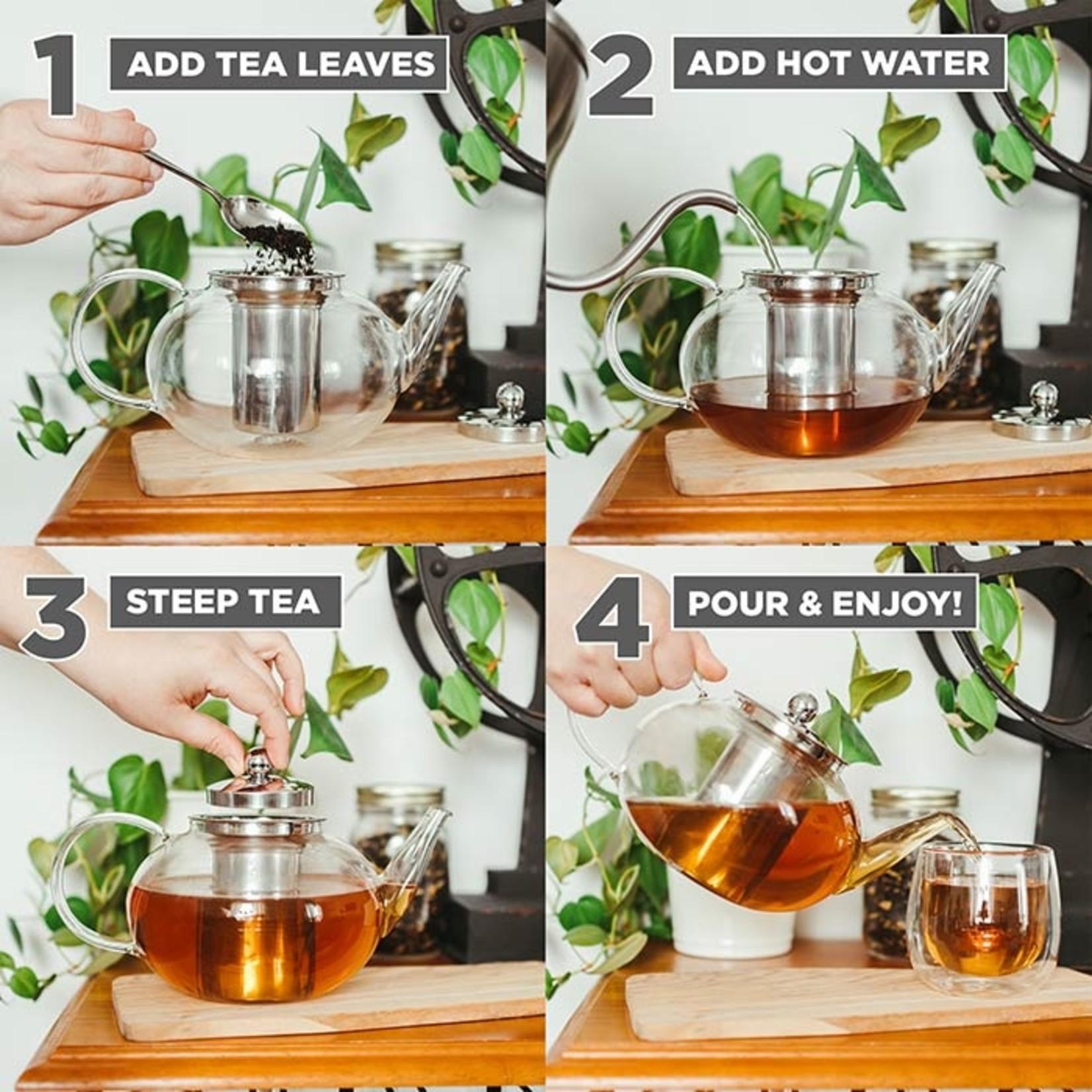 Grosche Joliette Glass Teapot w/ Infuser