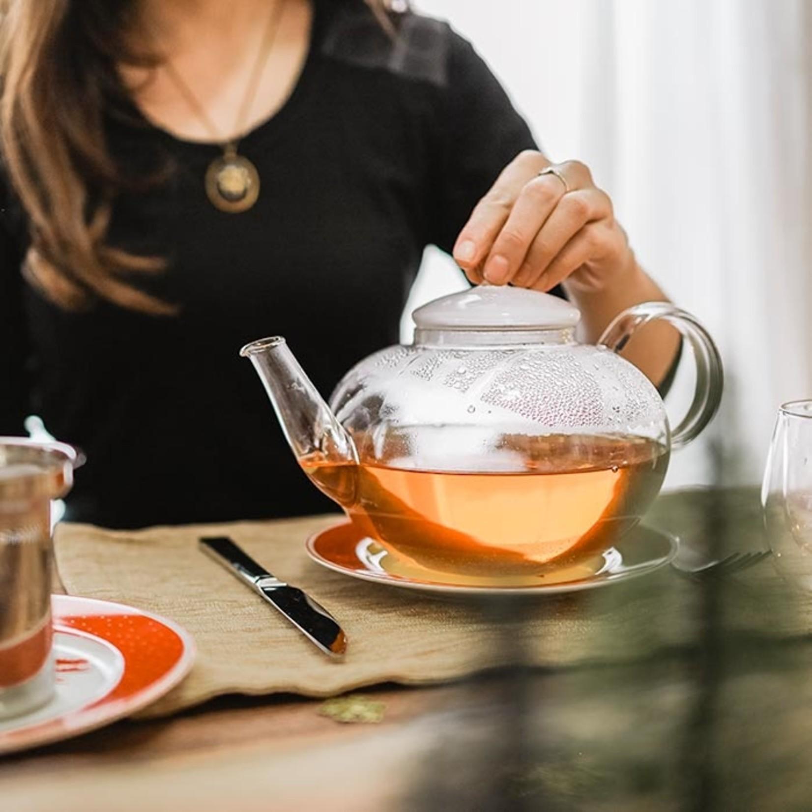 Grosche Cambridge Glass Teapot w/ Infuser