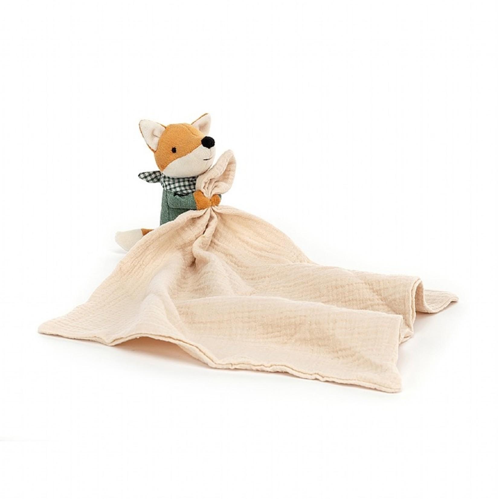 Jellycat Little Rambler Fox Soother