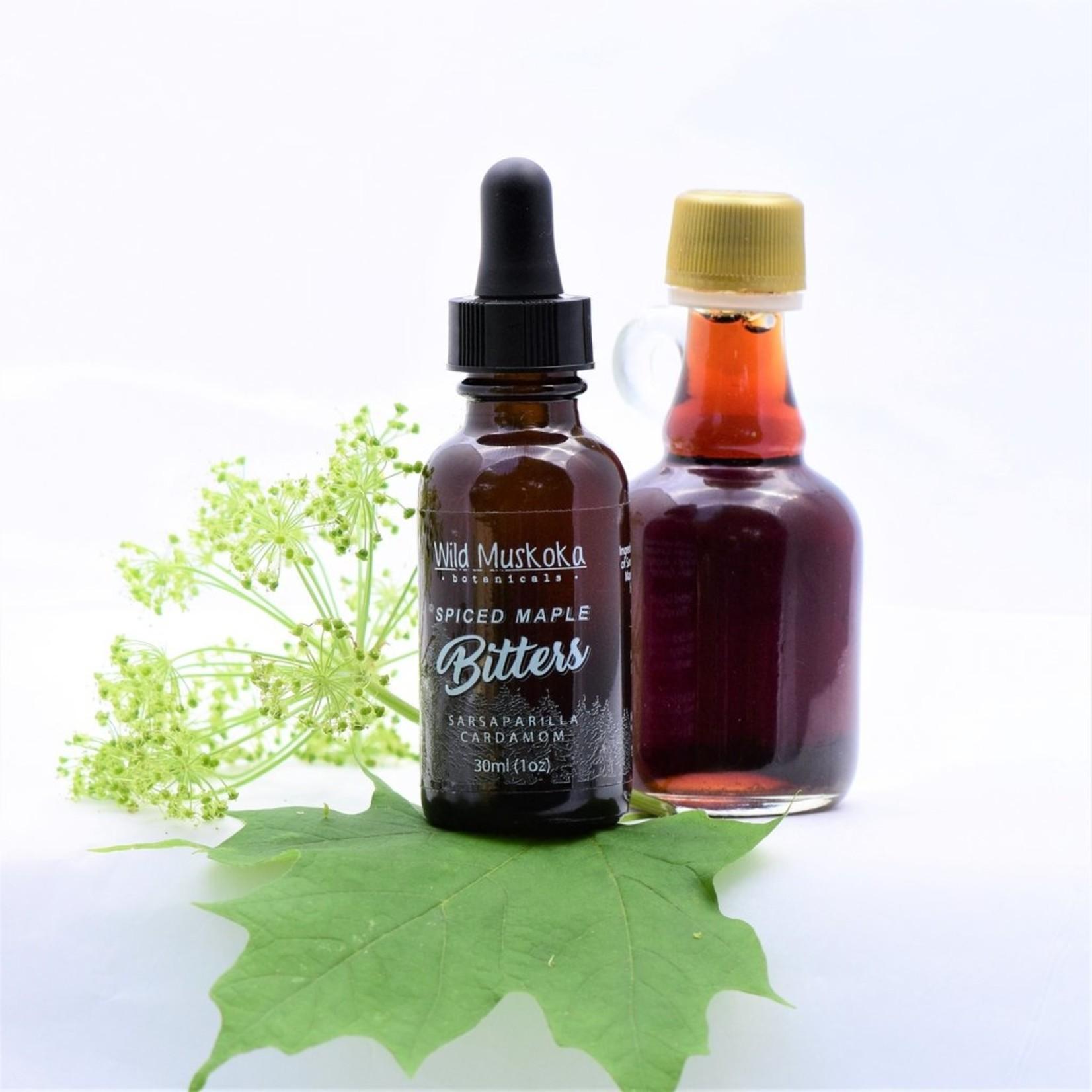Wild Muskoka Botanicals Spiced Maple Bitters