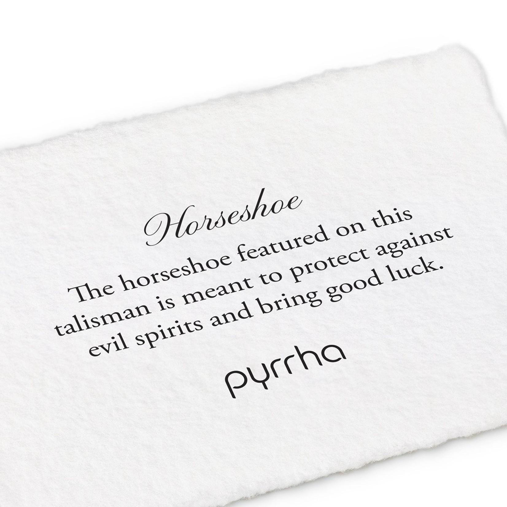 Pyrrha Horseshoe Signature Talisman
