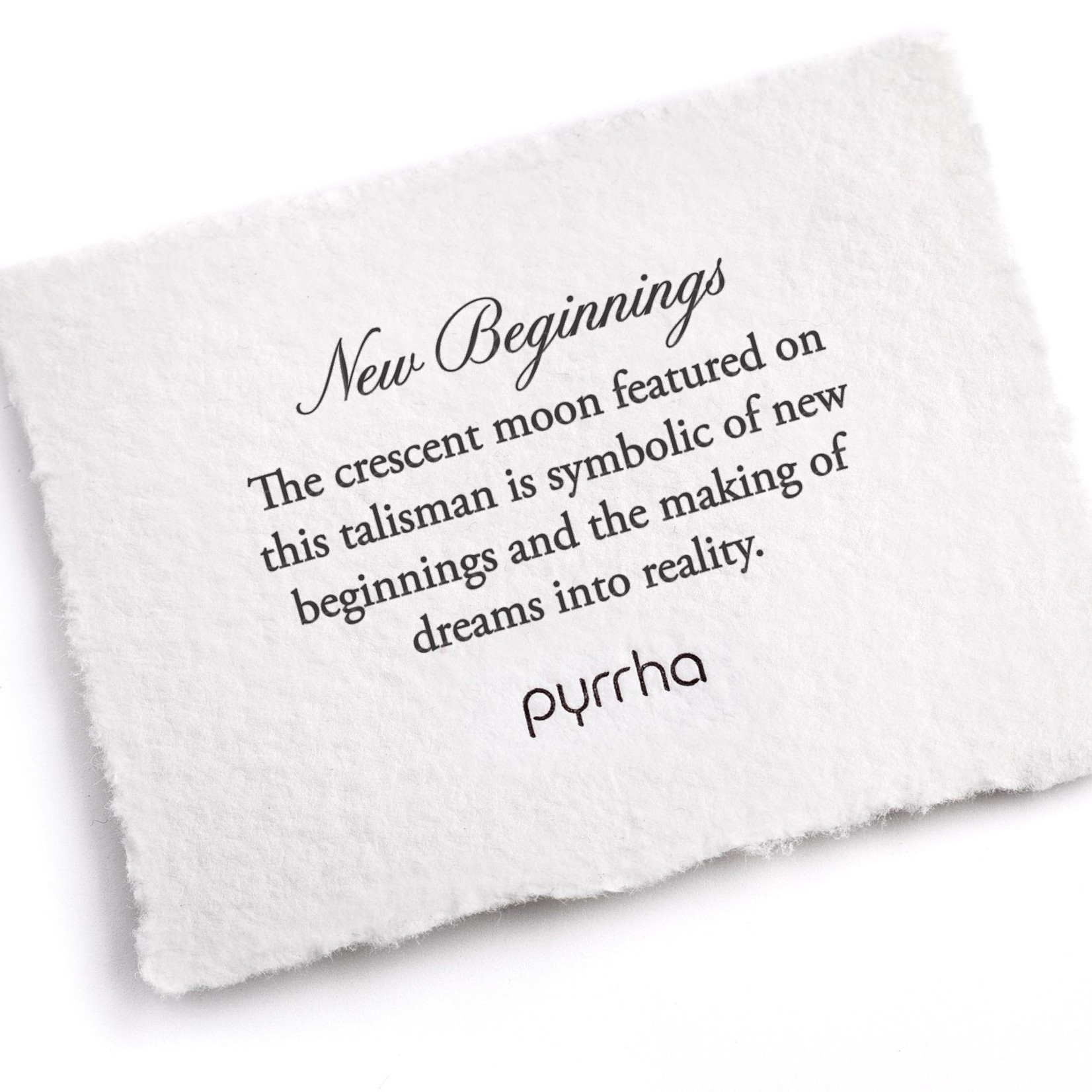 Pyrrha New Beginnings Small Paperclip Chain Necklace