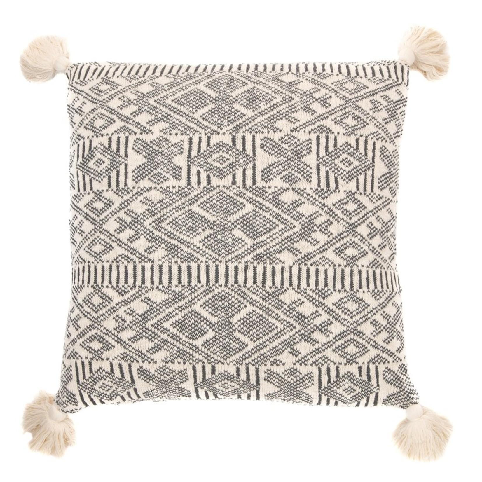 Brunelli Charlotte Knitted Cream Cushion