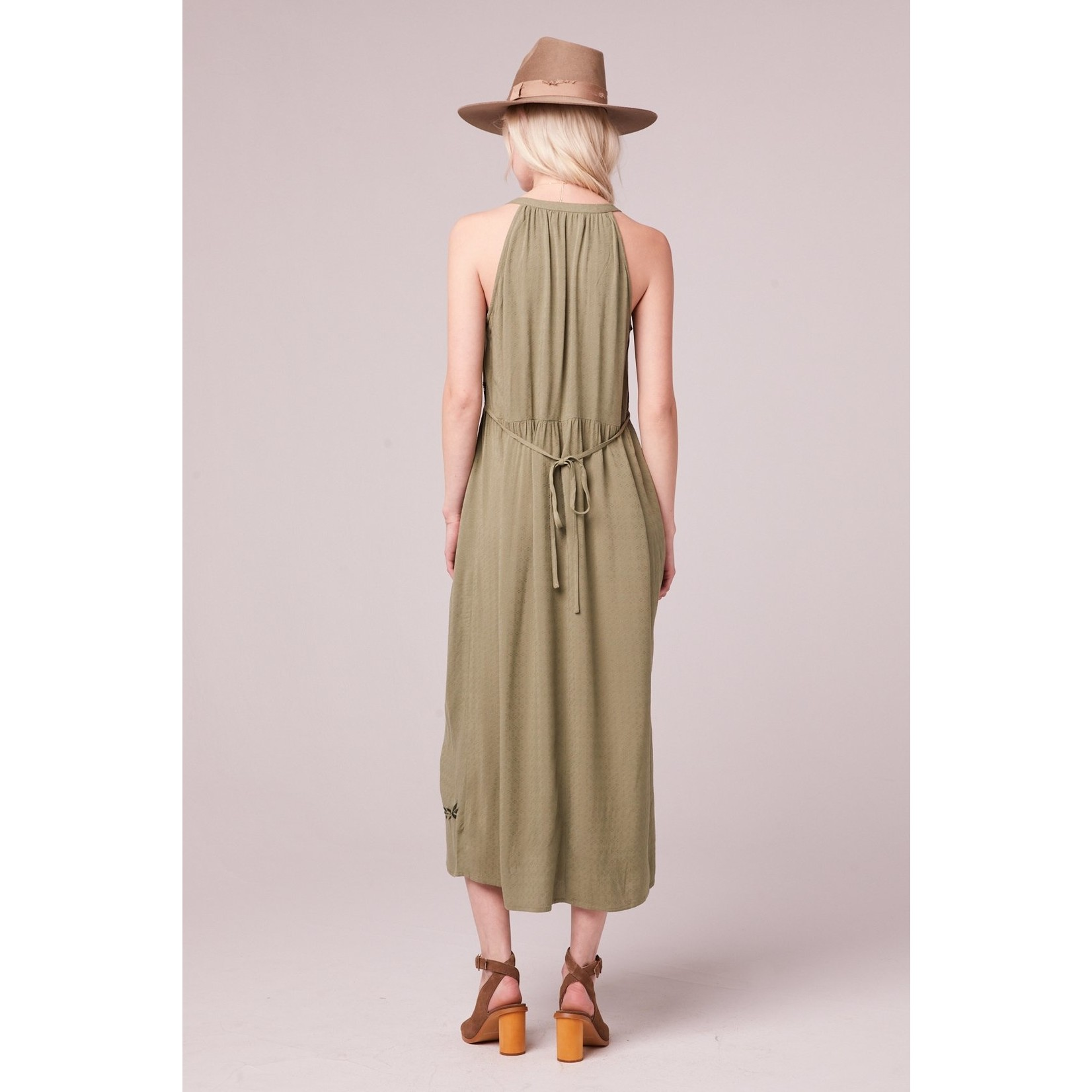 B.O.G. Collective Pavia Embroidered Maxi Dress