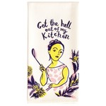 Blue Q Get The Hell Out Dish Towel