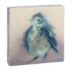 Cedar Mountain Fluffy Bird Art Block