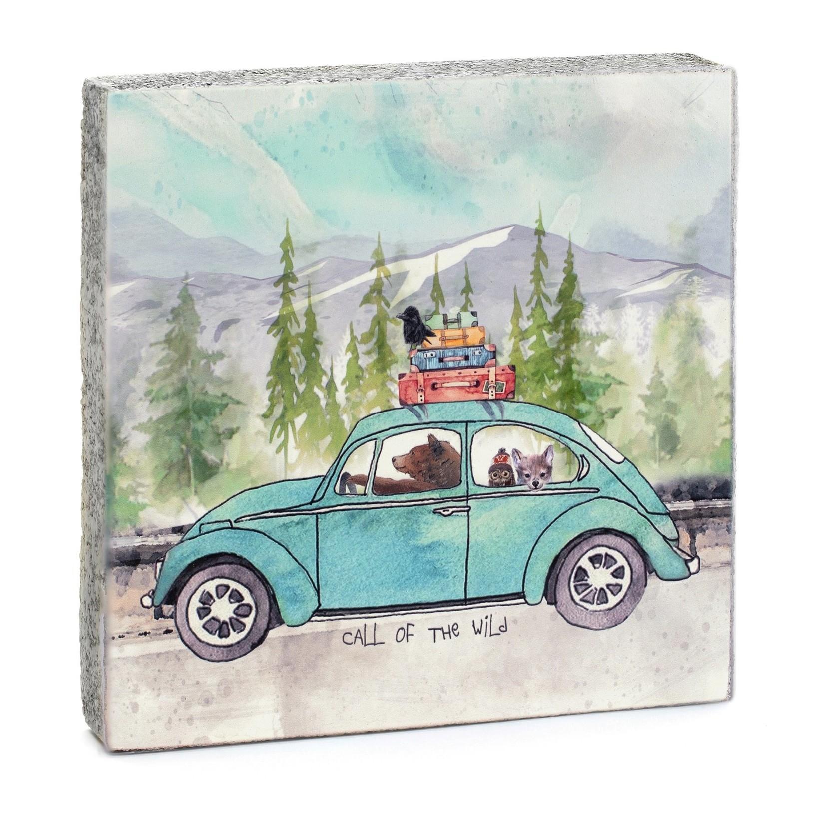 Cedar Mountain Call of the Wild Art Block