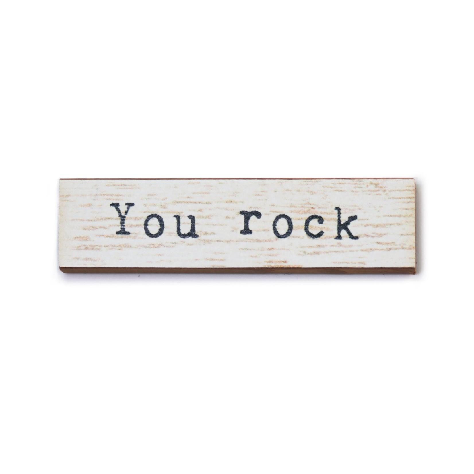 Cedar Mountain You Rock Timber Magnet