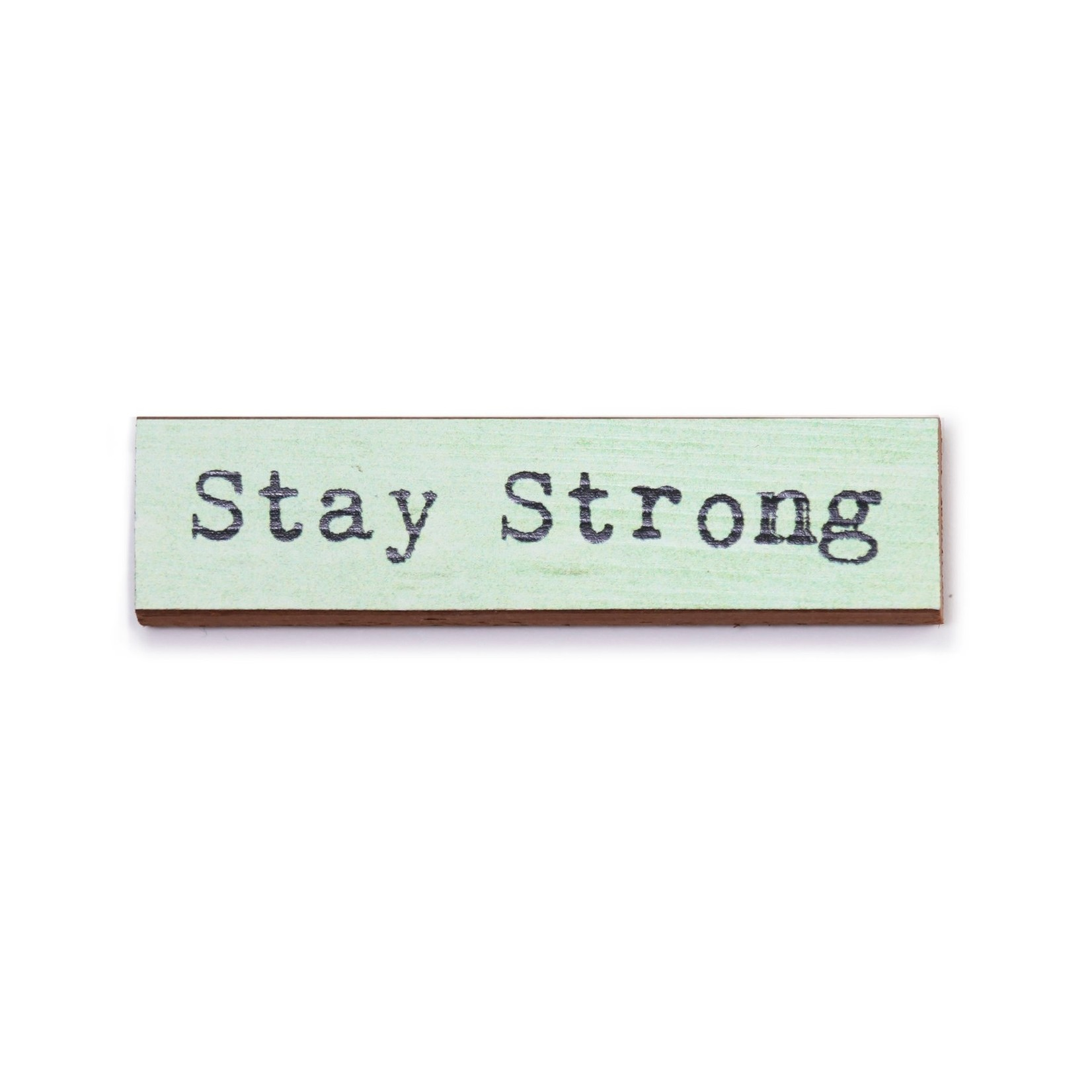 Cedar Mountain Stay Strong Timber Magnet