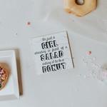 Cedar Mountain Salad Donut Magnet