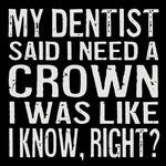 Cedar Mountain My Dentist Said Magnet