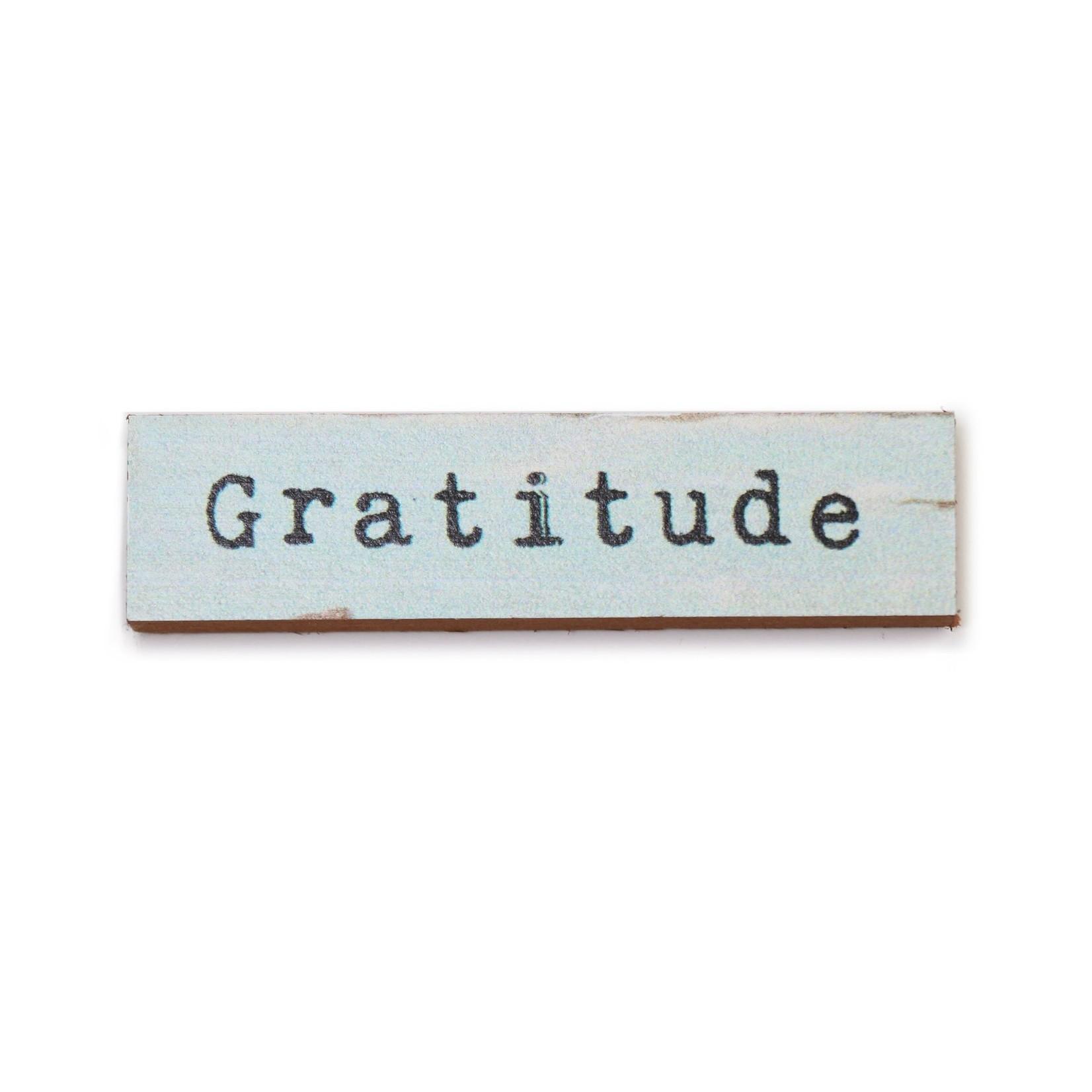 Cedar Mountain Gratitude Timber Magnet
