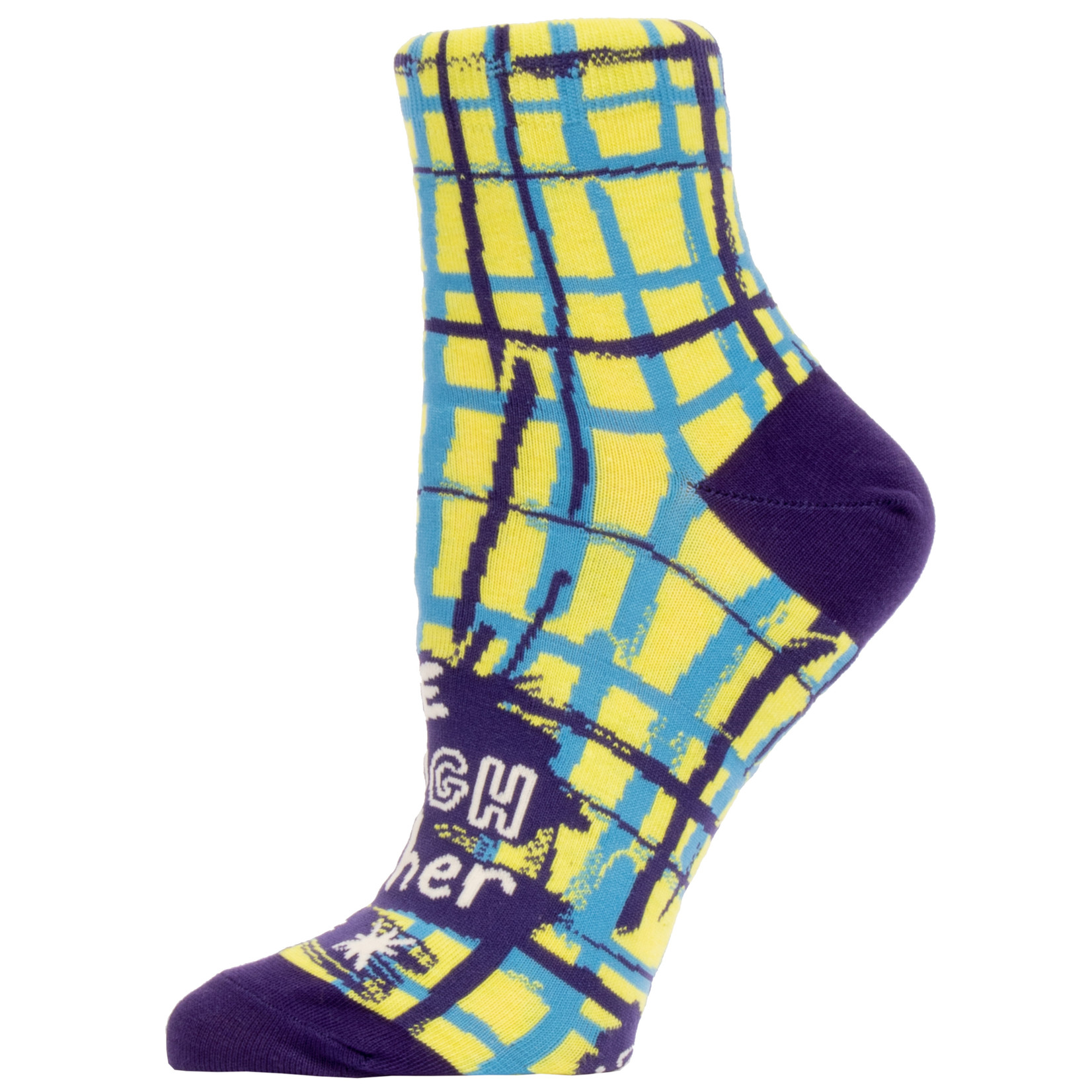 Blue Q One Tough Mother W - Ankle Socks