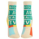 Blue Q I Am Reality TV W - Ankle Socks