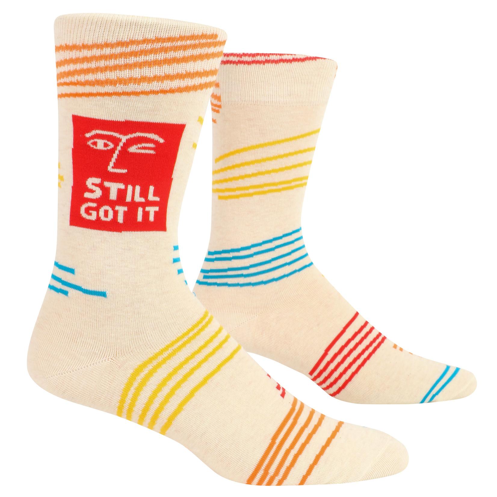 Blue Q Still Got It M - Crew Socks